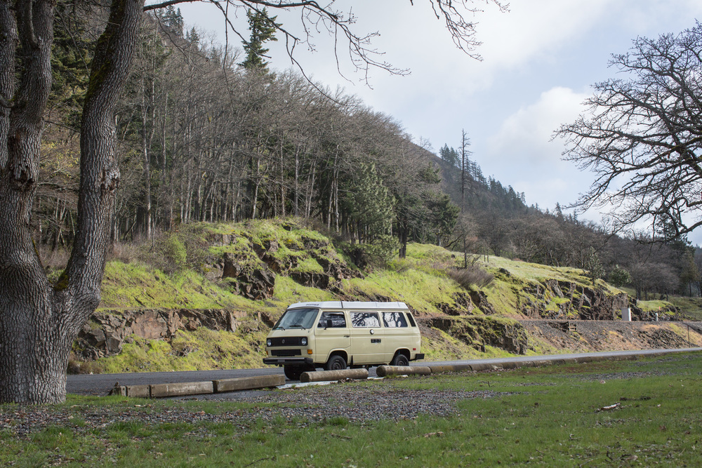 Westfalia on the Columbia River | A Plus L Photo