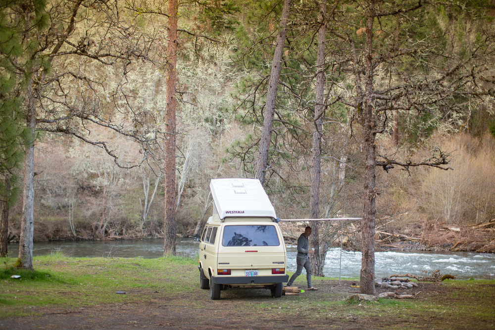 Klickitat Camping | A Plus L Photo