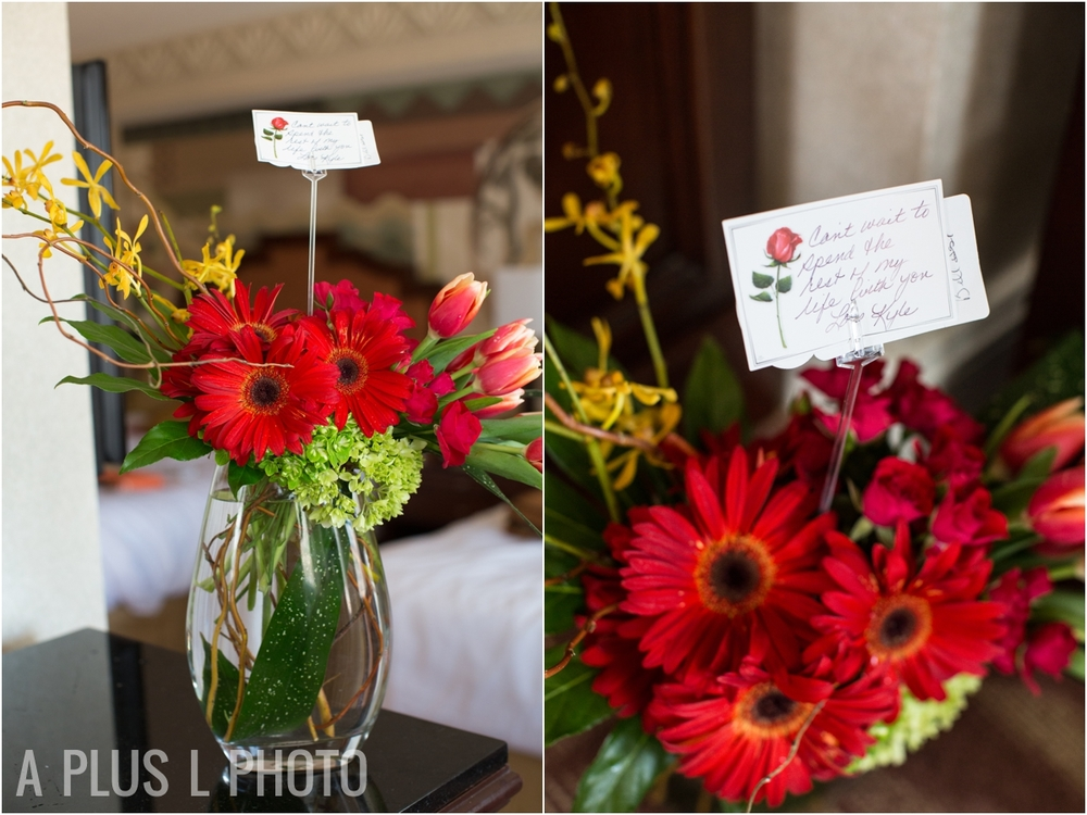Red Wedding Bouquet - A Plus L Photo