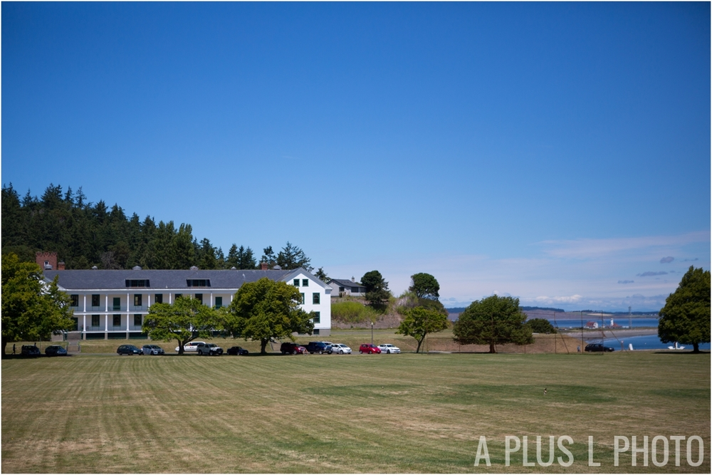 Fort Worden Wedding - Port Townsend Wedding - A Plus L Photo