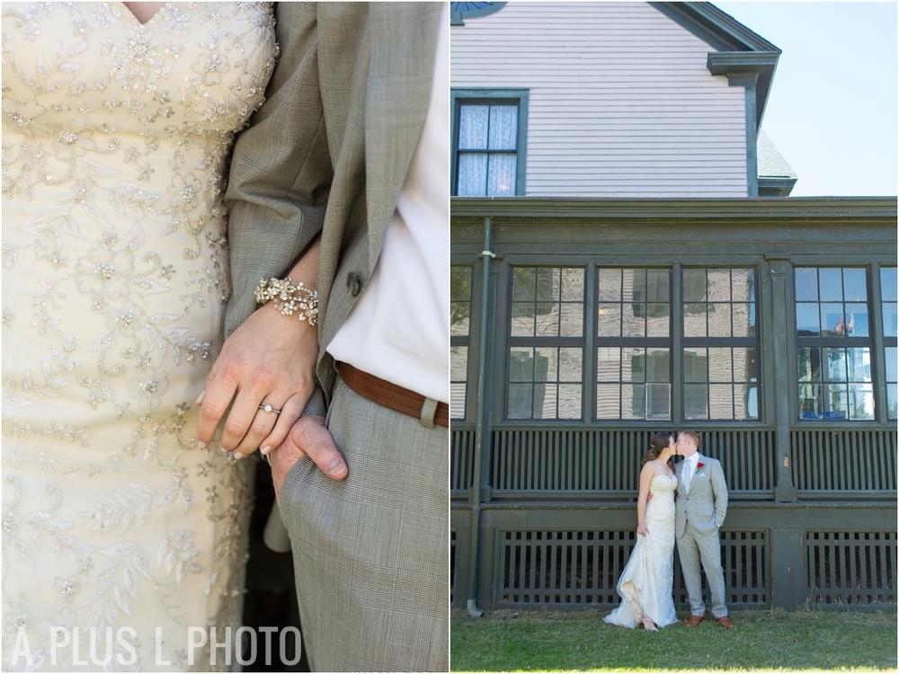 Wedding Jewelry - Fort Worden Wedding - A Plus L Photo