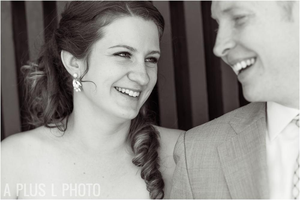 Bridal Portrait - Fort Worden Wedding - A Plus L Photo