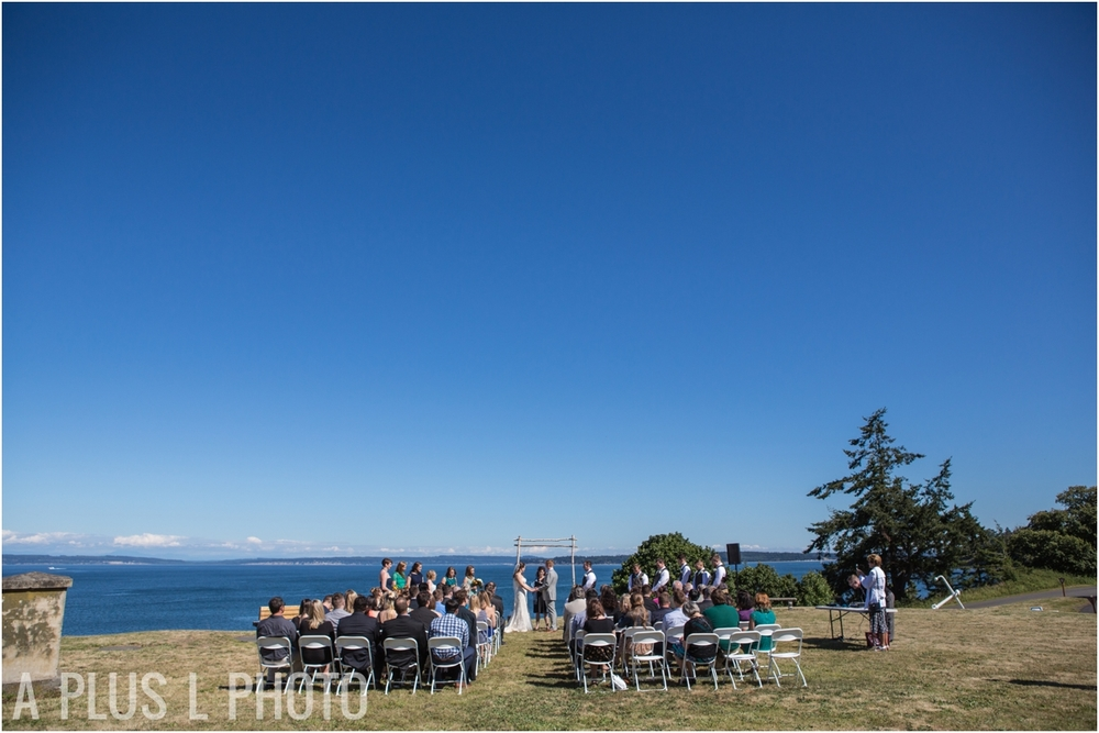 Bluff 205 - Fort Worden Wedding - A Plus L Photo