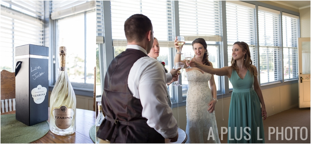 Tzarina Champagne - Fort Worden Wedding - A Plus L Photo
