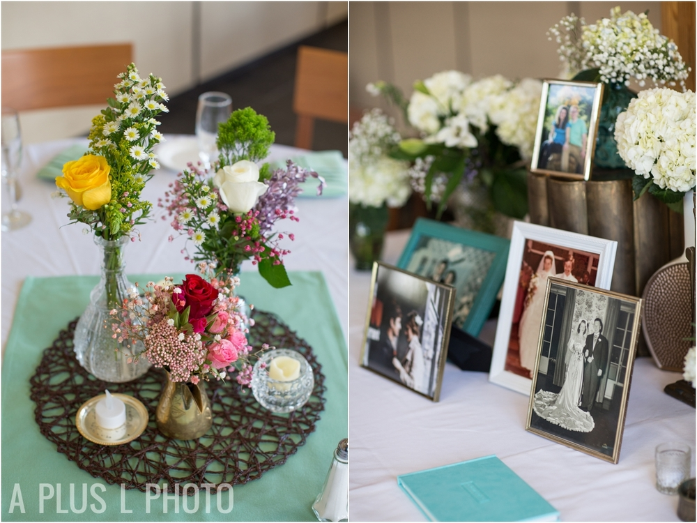 Colorful Wildflowers Wedding - Fort Worden Wedding - A Plus L Photo