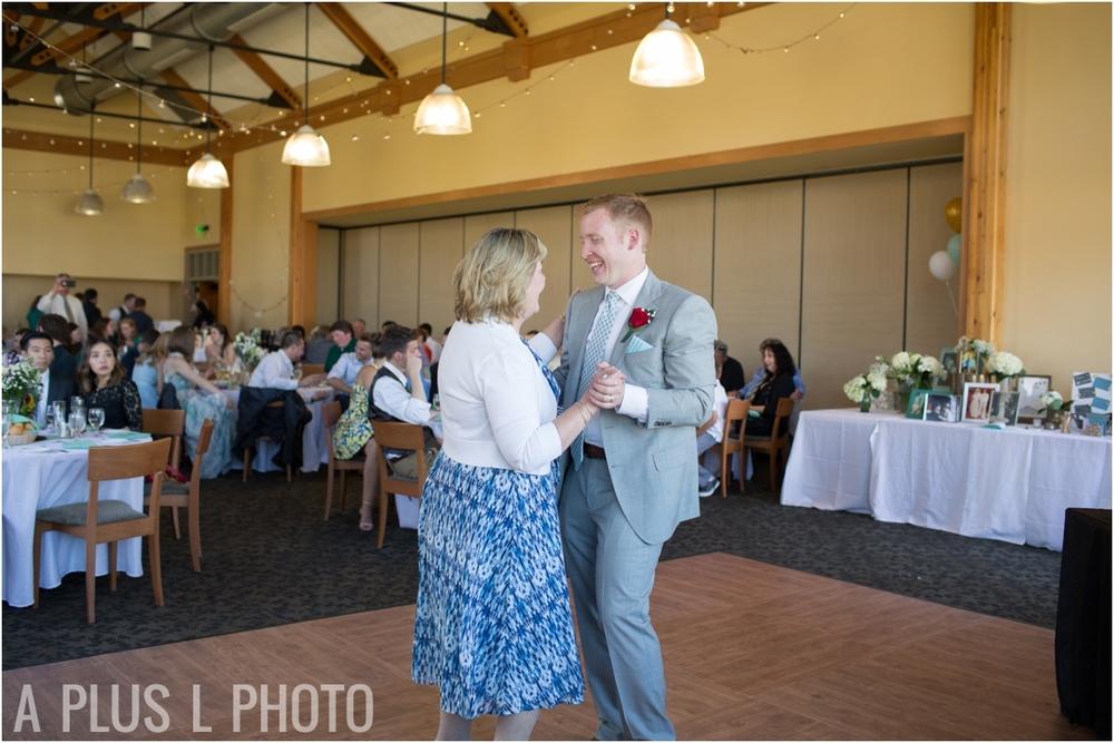 Mother Son Dance - Fort Worden Wedding - A Plus L Photo