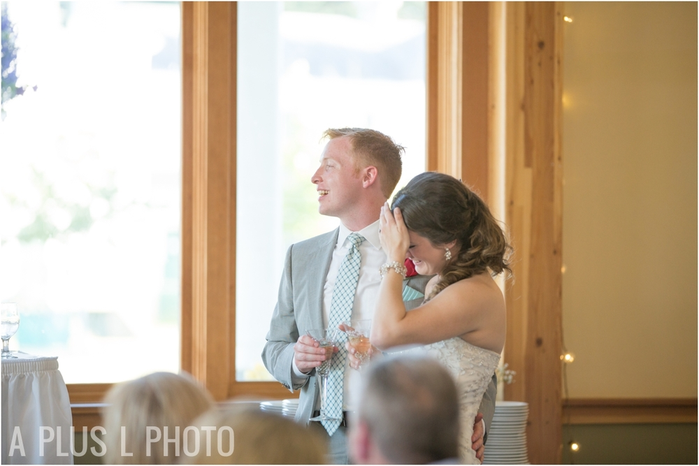 Maid of Honor Speech - Fort Worden Wedding - A Plus L Photo