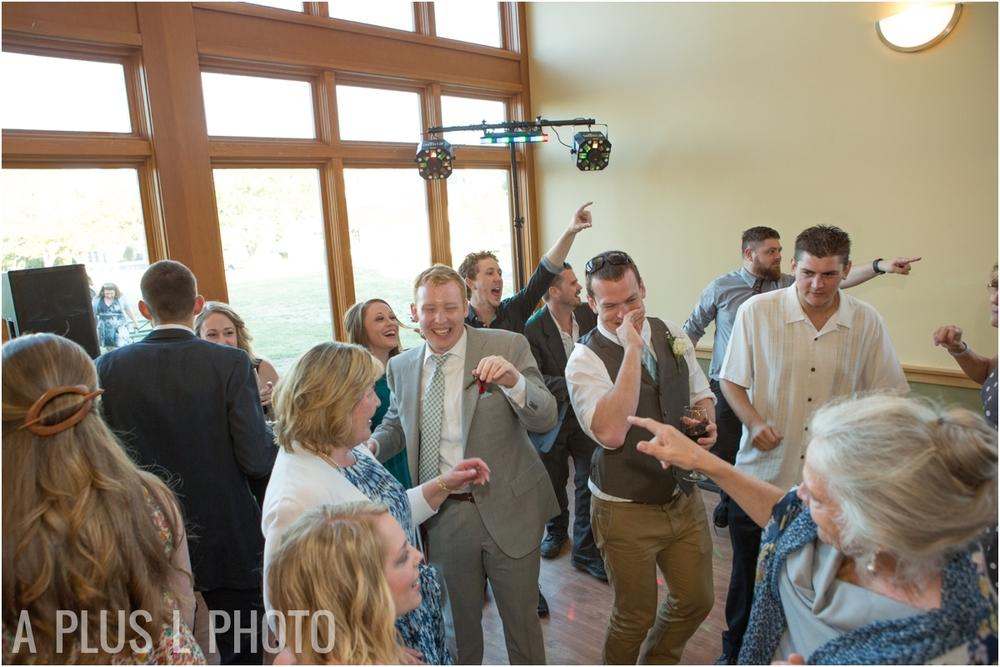 Wedding Dance Floor - Fort Worden Wedding - A Plus L Photo