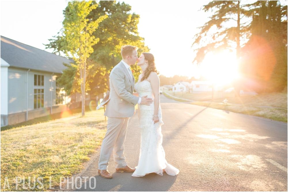 Golden Hour Wedding - Fort Worden Wedding - A Plus L Photo