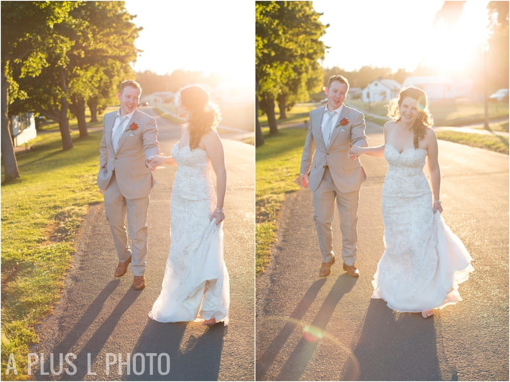 Golden Hour Wedding - Fort Worden Wedding - A Plus L Photo