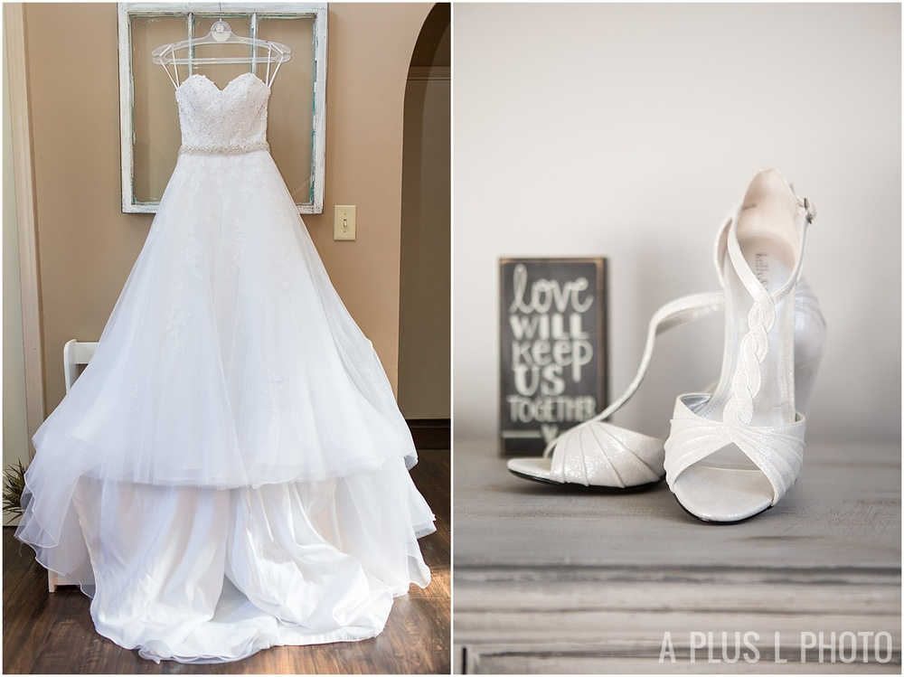 Columbus Ohio Wedding - Wedding Dress - A Plus L Photo