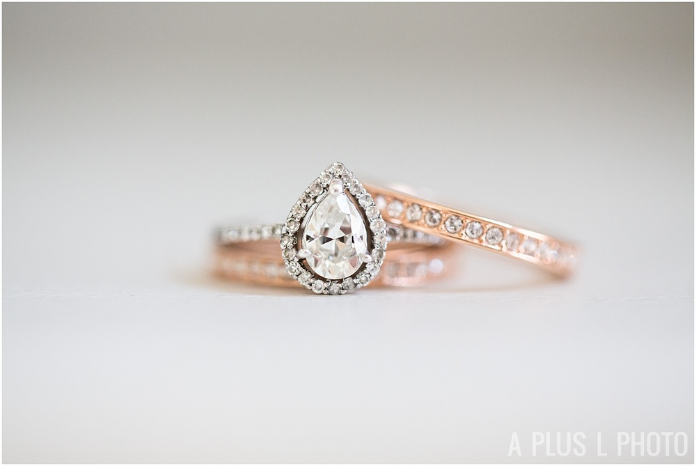 Columbus Ohio Wedding - Wedding Rings - A Plus L Photo