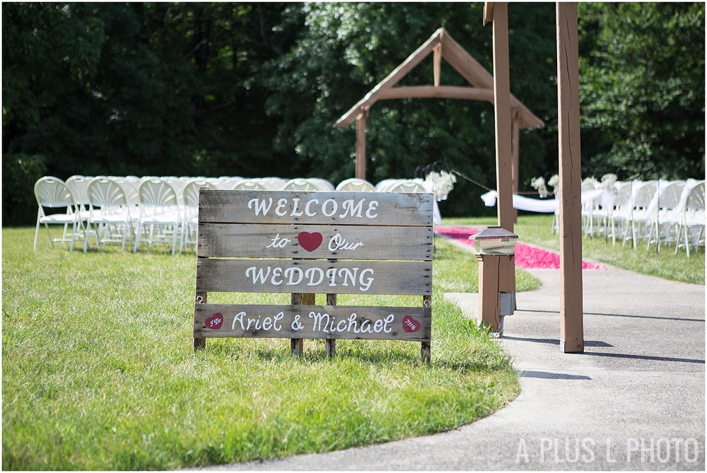 Columbus Ohio Wedding - Wedding Venue Details - A Plus L Photo
