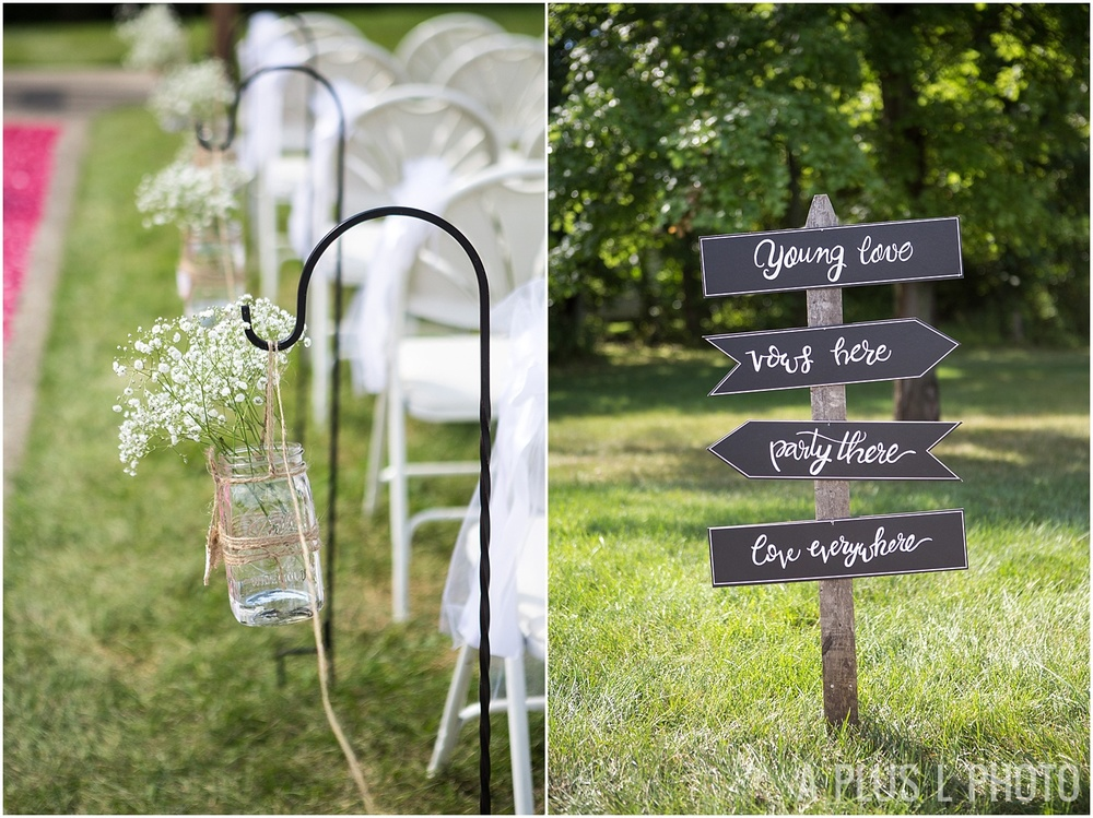 Columbus Ohio Wedding - Rustic Wedding Details - A Plus L Photo