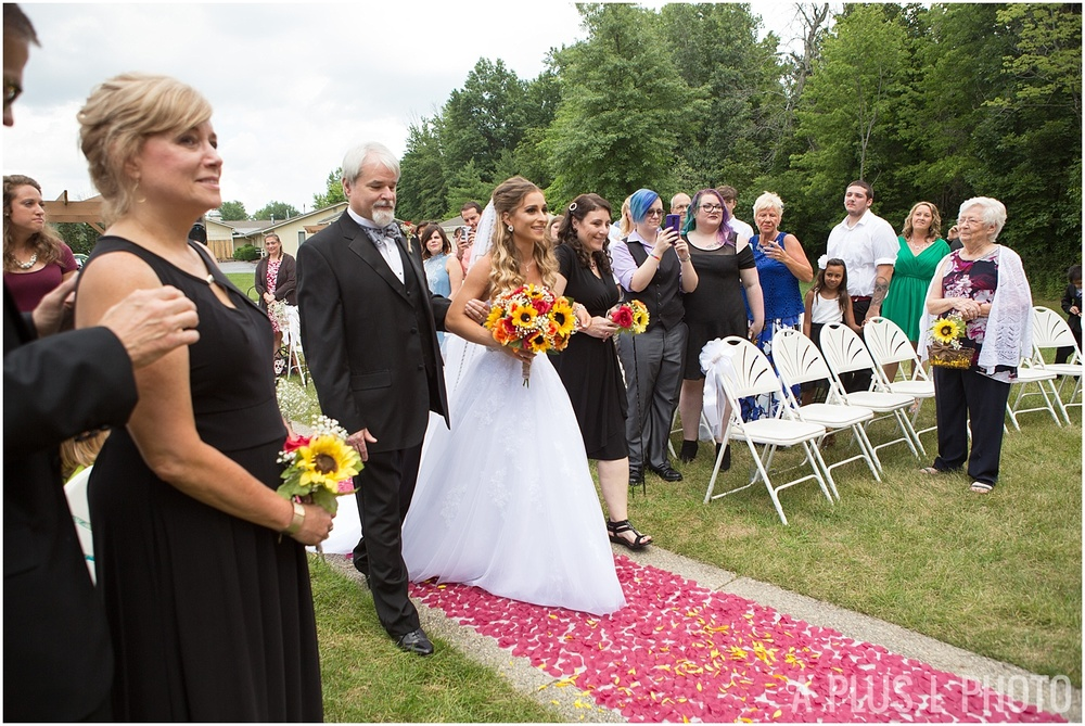 Columbus Ohio Wedding - Wedding First Look - A Plus L Photo