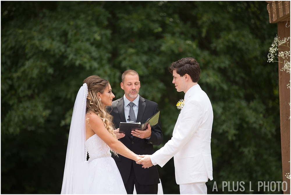 Columbus Ohio Wedding - Wedding Ceremony Moments - A Plus L Photo