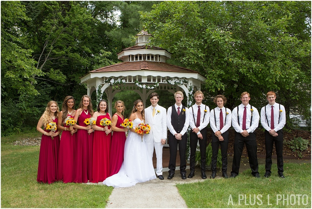 Columbus Ohio Wedding - Yellow and Red Rustic Wedding - A Plus L Photo