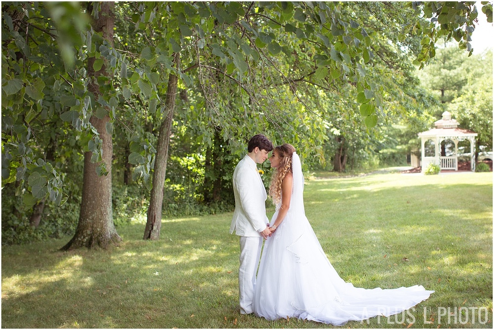 Columbus Ohio Wedding - Bride and Groom Portrait - A Plus L Photo