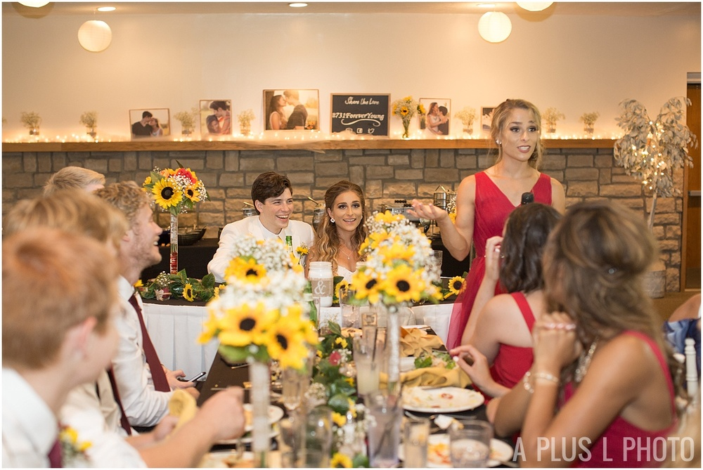 Ohio Wedding - Red and Yellow Rustic Wedding - A Plus L Photo