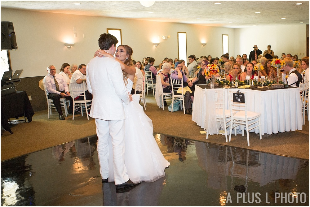 Ohio Wedding - Wedding First Dance - A Plus L Photo