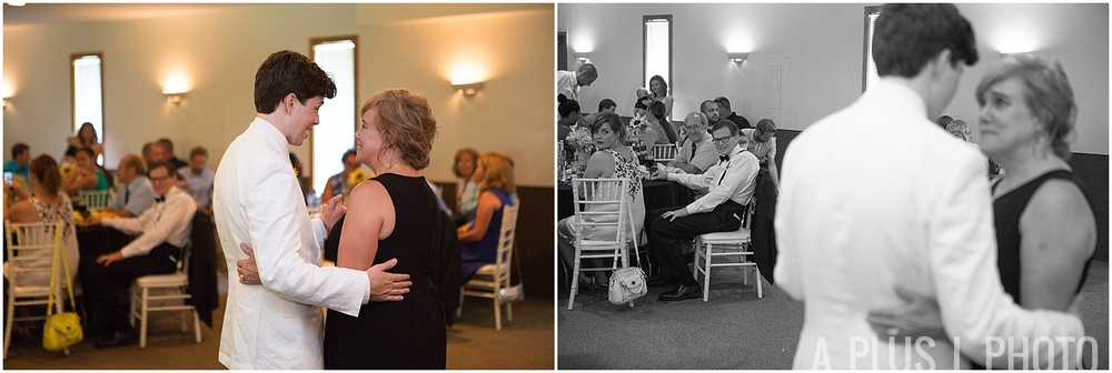 Ohio Wedding - Mother Son First Dance - A Plus L Photo
