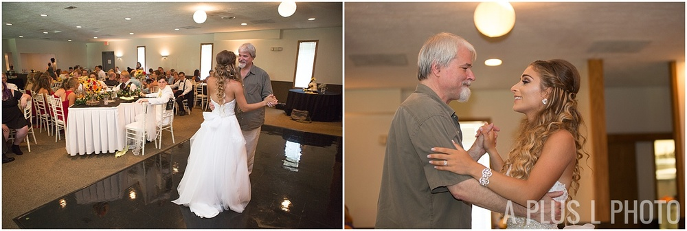 Ohio Wedding - Father Daughter First Dance - A Plus L Photo