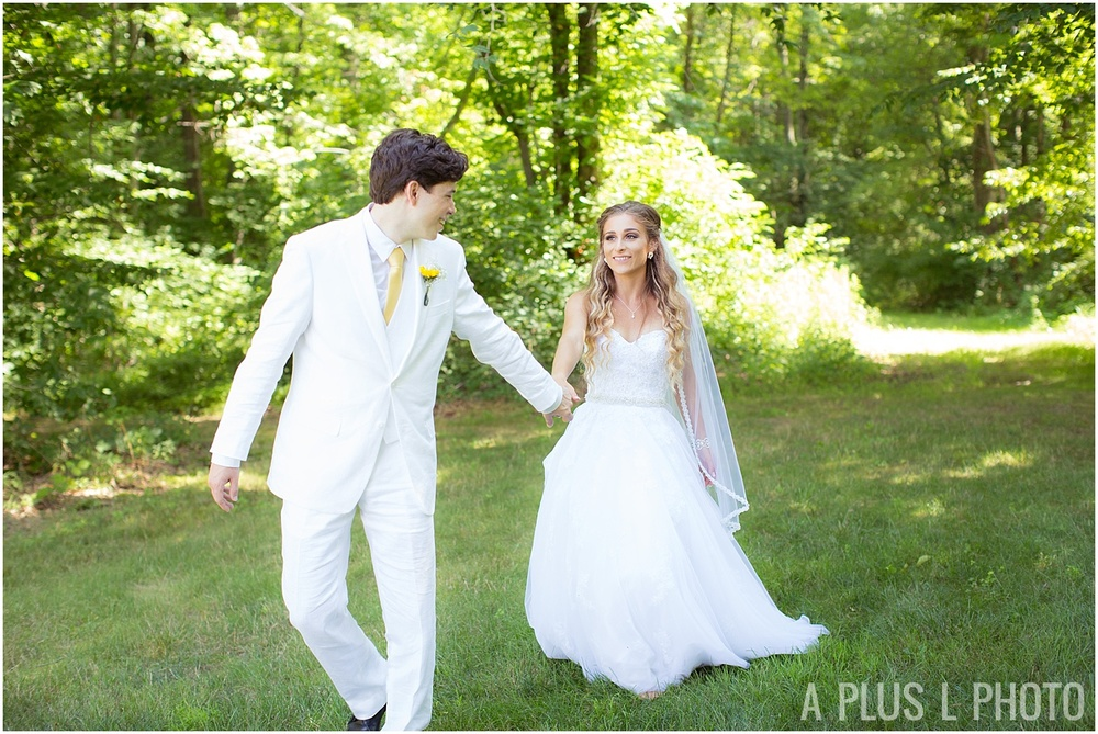 Ohio Wedding - Bride and Groom Rustic Wedding - A Plus L Photo