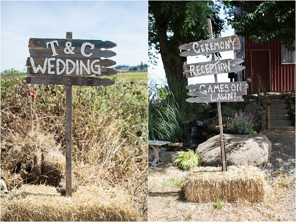 Rockabilly Wedding - Chalkboard Signs - A Plus L Photo