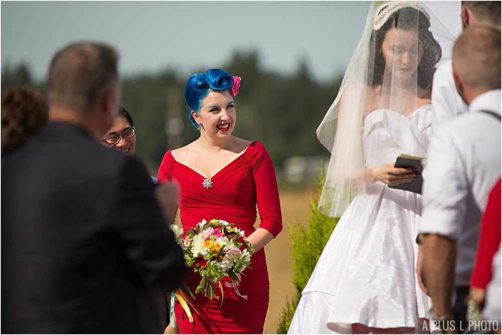 Rockabilly Wedding - Rustic Wedding - A Plus L Photo