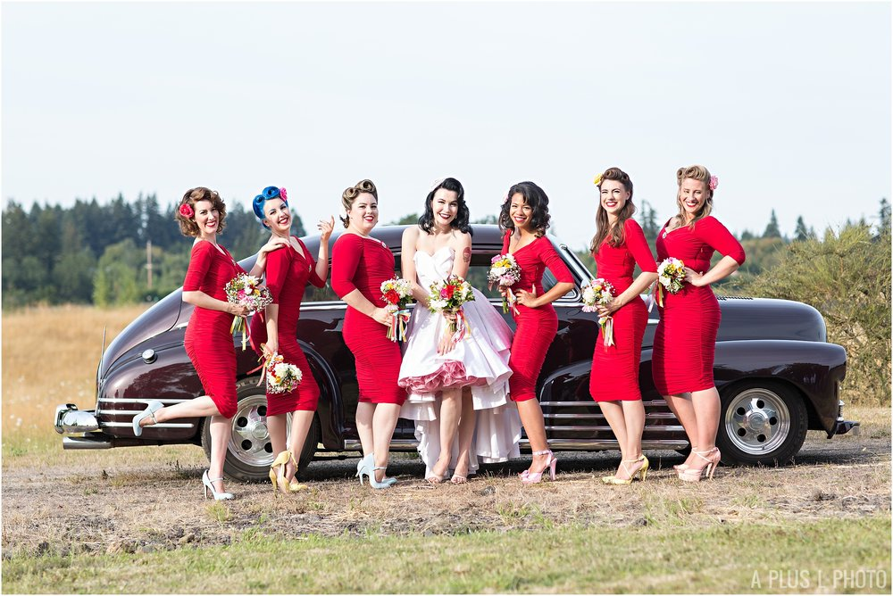 Rockabilly Wedding - Pinup Wedding - A Plus L Photo