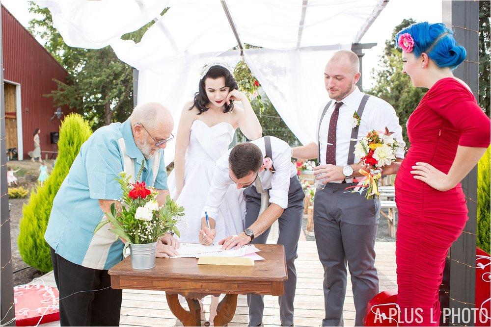 Rockabilly Wedding - A Plus L Photo