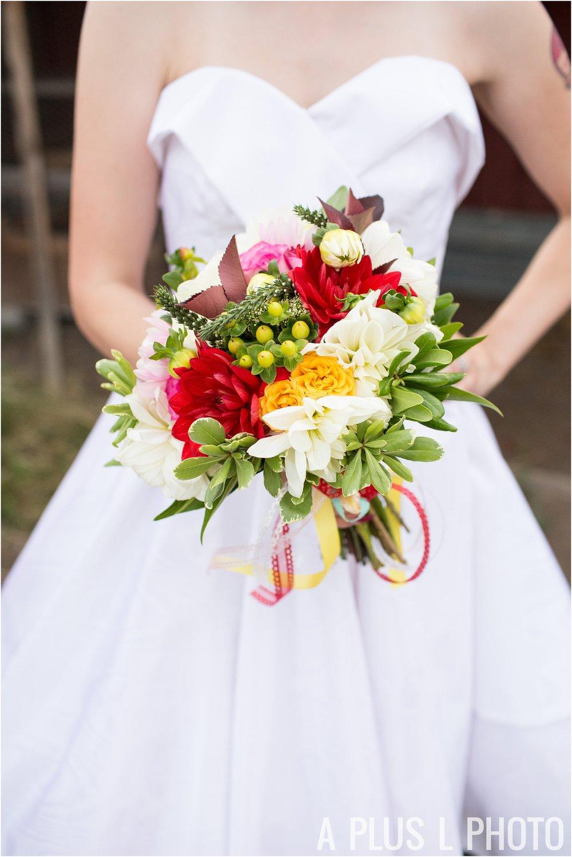 Rockabilly Wedding - Colorful Wedding Bouquet - A Plus L Photo