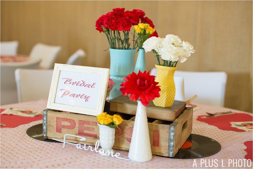 Rockabilly Wedding - DIY Colorful Wedding Ideas - A Plus L Photo