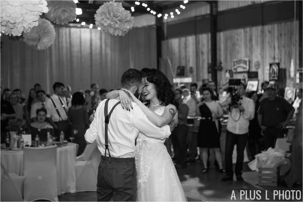Colorful Rockabilly Wedding - Choreographed First Dance - Heart of Rock - A Plus L Photo