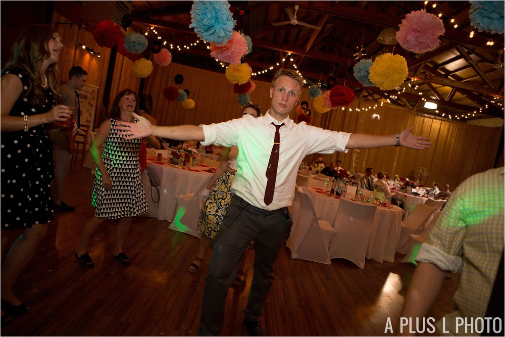 Colorful Rockabilly Wedding - Wedding Dance Photo - Heart of Rock - A Plus L Photo