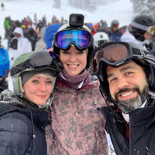 These babes let me crash their weekend, fed me whiskey and burritos, made me laugh so hard, and made sure I didn't get lost on the slopes. Highly recommend them. 10 out of 10.
