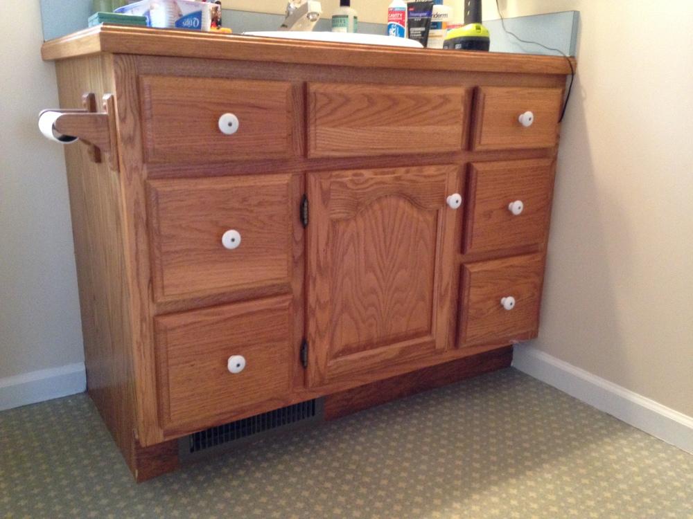ithaca oak cabinet