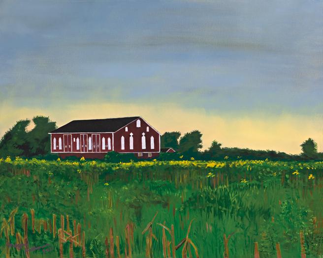 """Jay Road Barn"" Megan Kishman (2011)"
