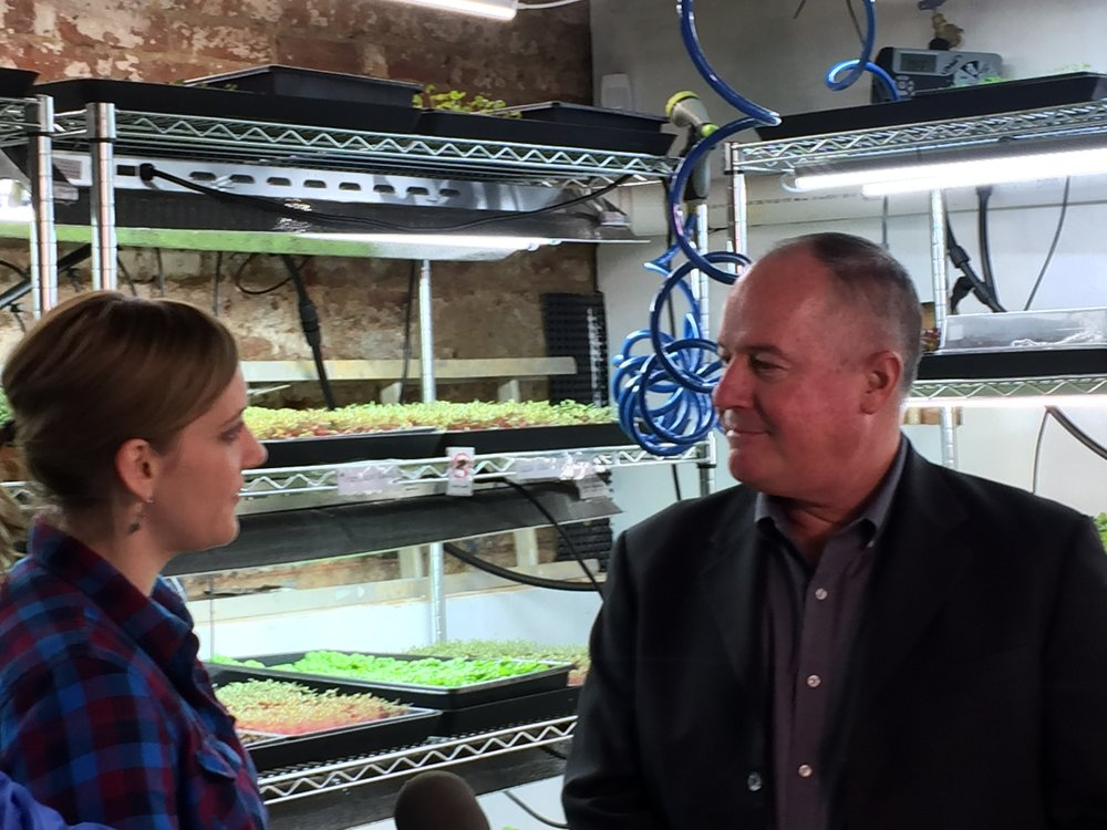 "USDA Official Tours Washington, D.C. ""Urban Ag"" Success"