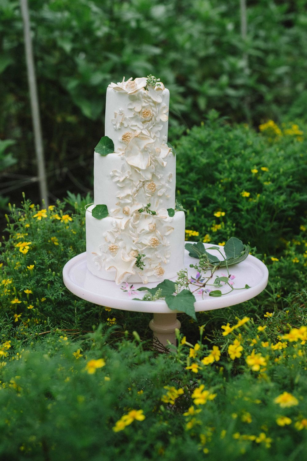 Cake by Cowbell Kitchen, Photo by Amber Breitenberg