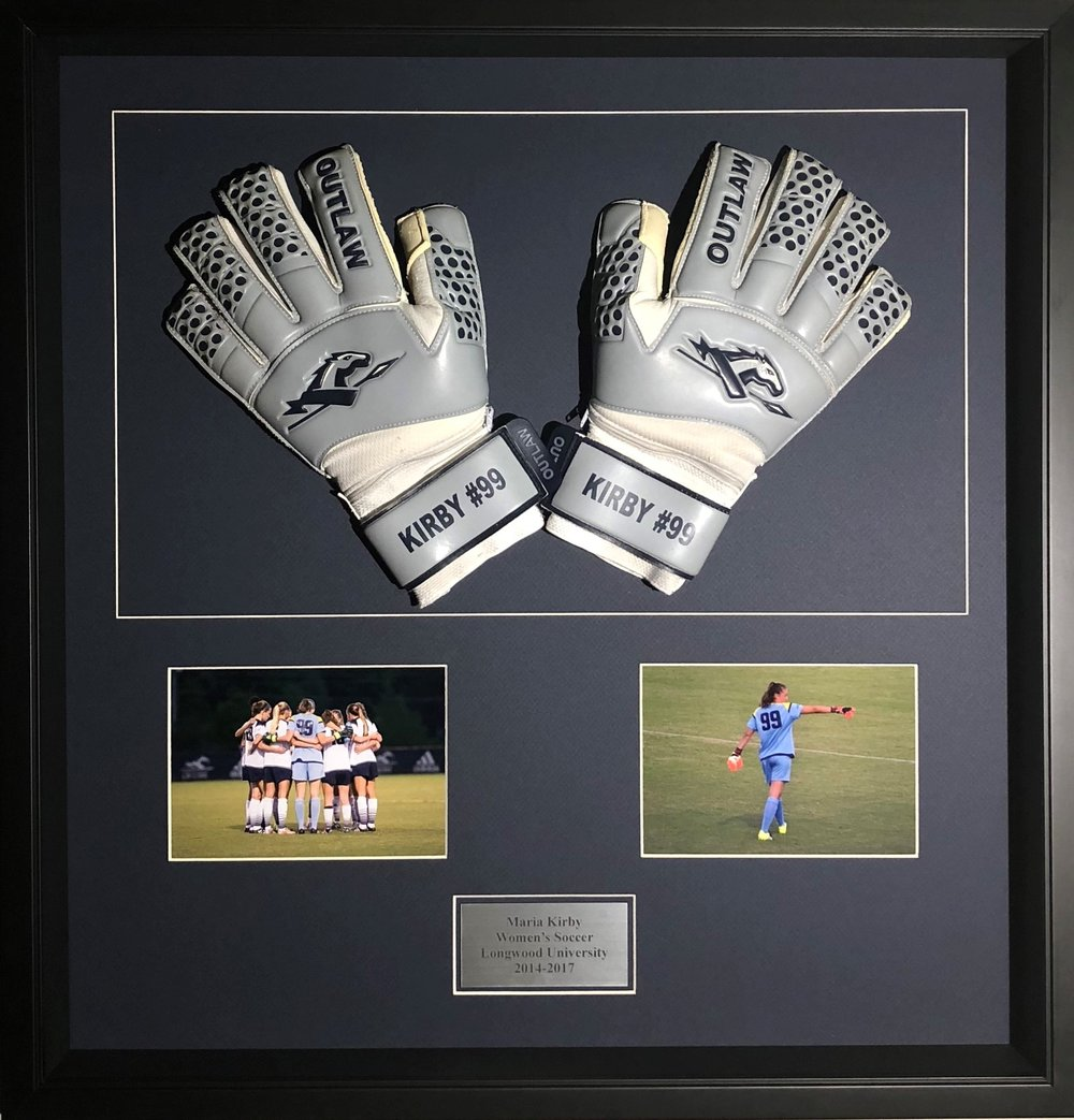 Framed Soccer Gloves and Photos.jpg