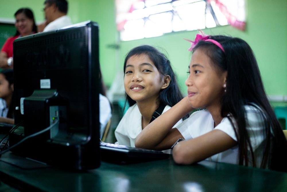 Computer & internet infrastructure in schools