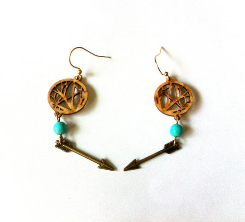 Follow The Arrows To The Tree Of Life Earrings