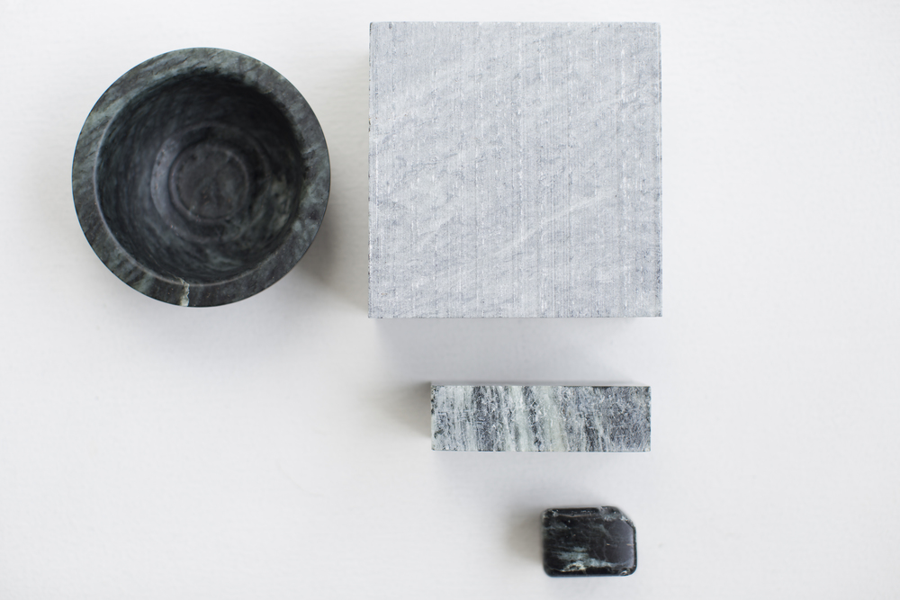 Material Study  Natural patina of soapstone over time 2012