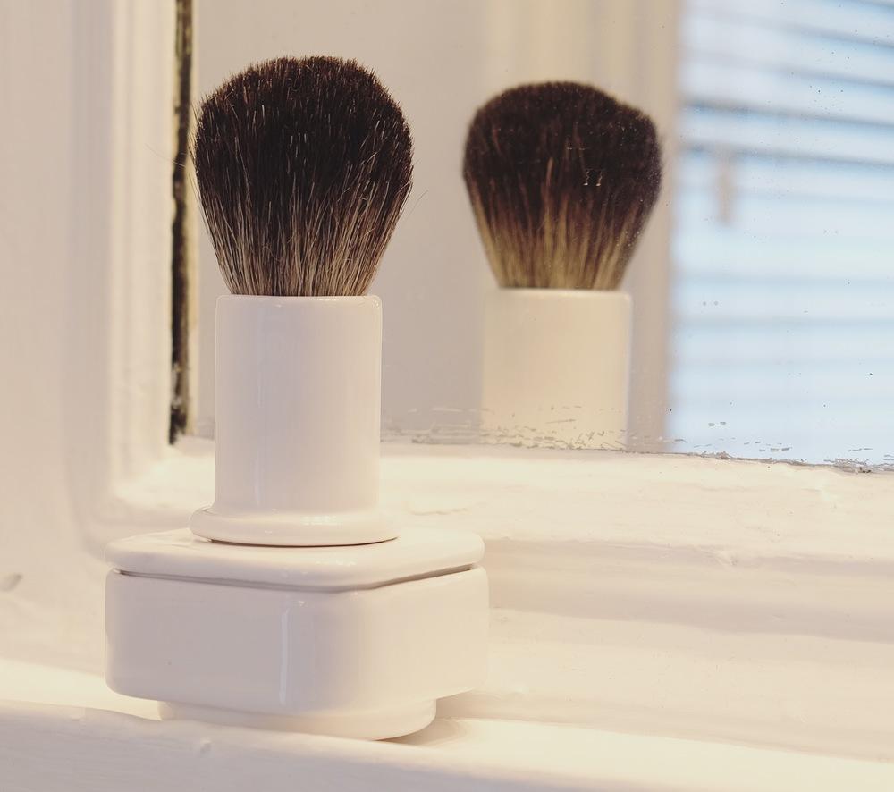 Shaving Bush and Bowl Prototype