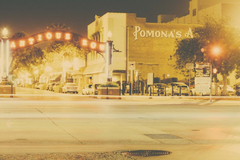 Street photography in downtown Pomona.