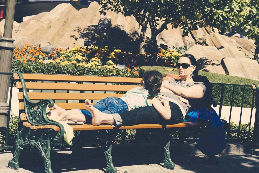 Disneyland chillin'