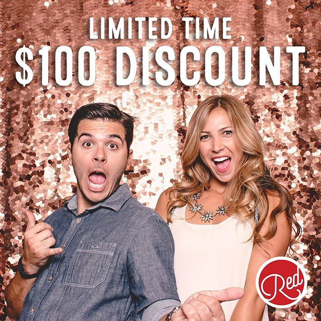 For a limited time, we're offering a $100 DISCOUNT off our three hour PREMIUM and four hour PLUS packages!!! Give your guests the best at your next event!!!