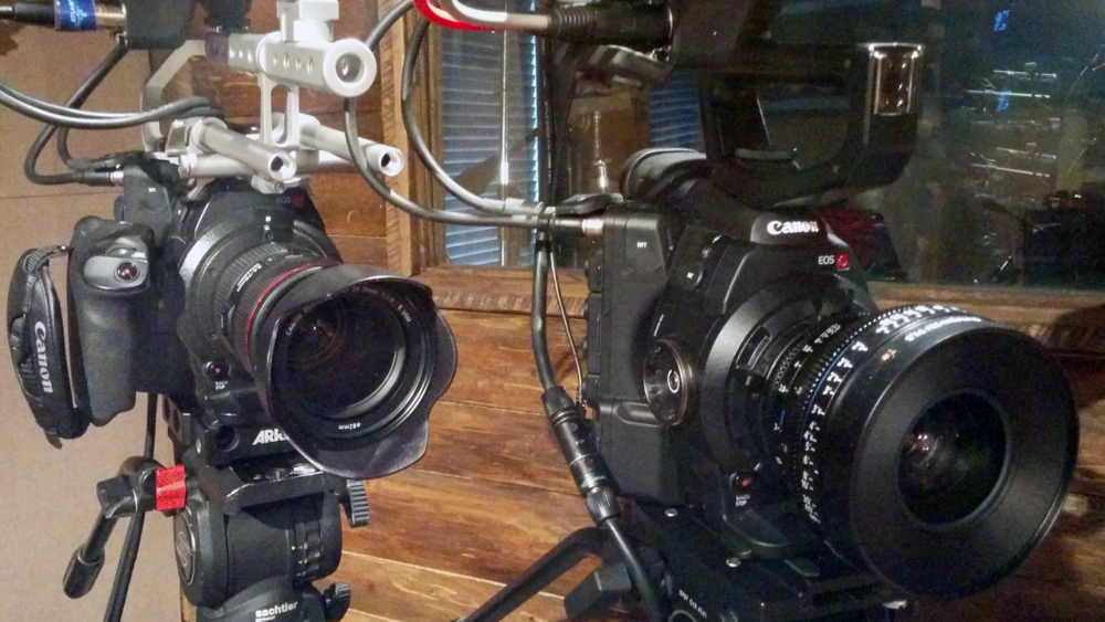 Camera setup at Manhattan Center Productions