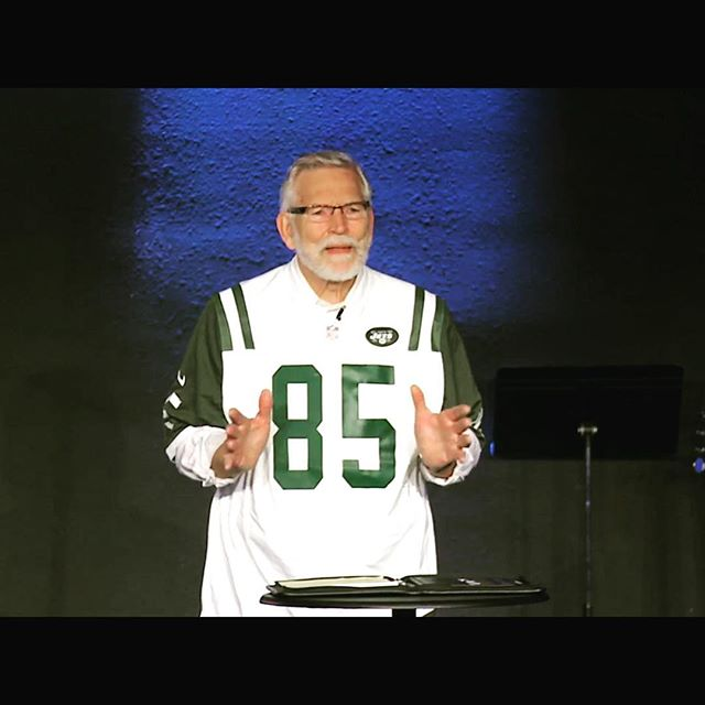 """We may not be good at listening, but He is great at speaking to us."" - Steve Thompson, former New York Jet (Super Bowl III)"